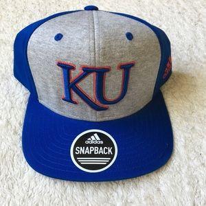 Kansas Jayhawks KU SnapBack Structured Hat New